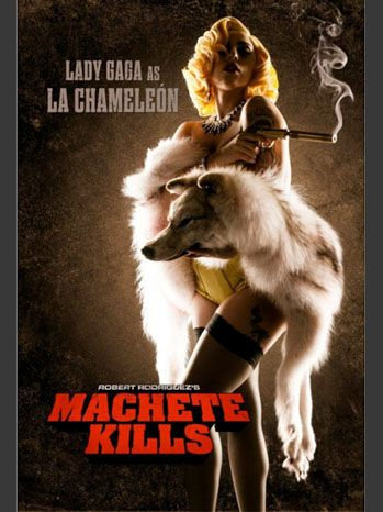 Lady Gaga's 'Machete Kills' Character Poster Unveiled