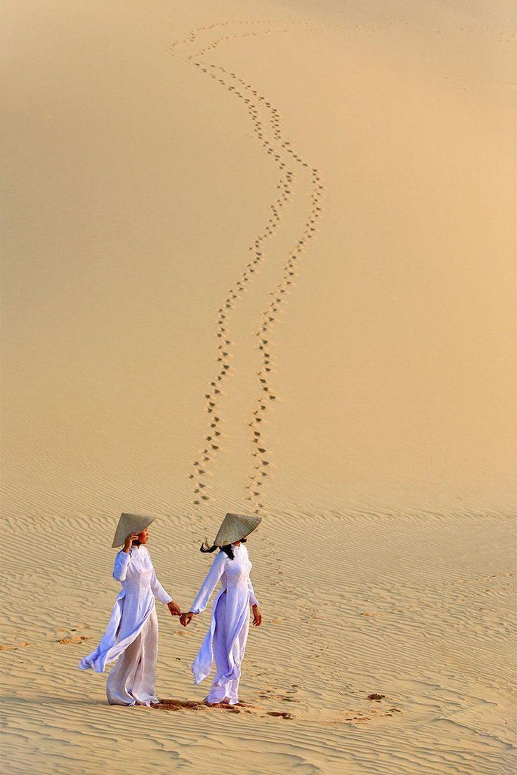 Sand Dunes ~ Mue Ne, Vietnam