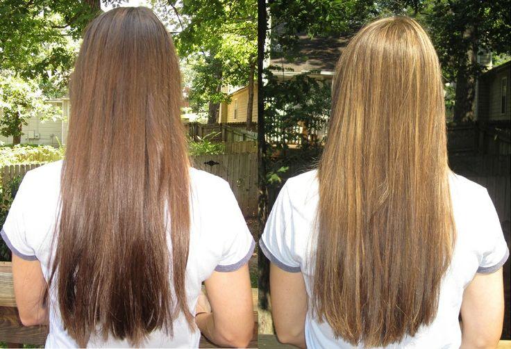 honey lightener before and after beforeafter2 Lighten