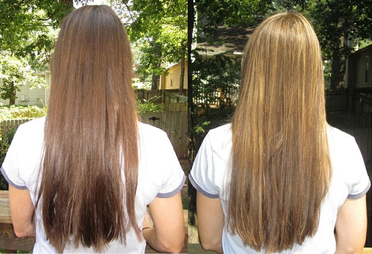Honey Lightener Before And After Beforeafter2 Hair