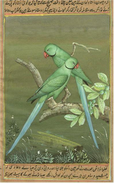 "windypoplarsroom: "" Birds Miniature Paper Paintings """