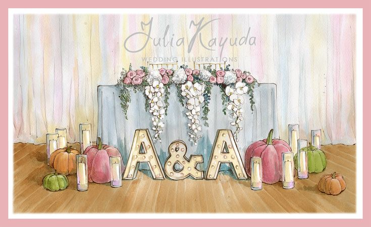 Блог | Julia Kayuda - wedding illustrations