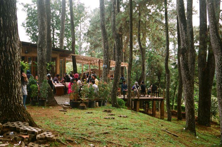 the twillight coffee shoop in Bandung, Indonesia