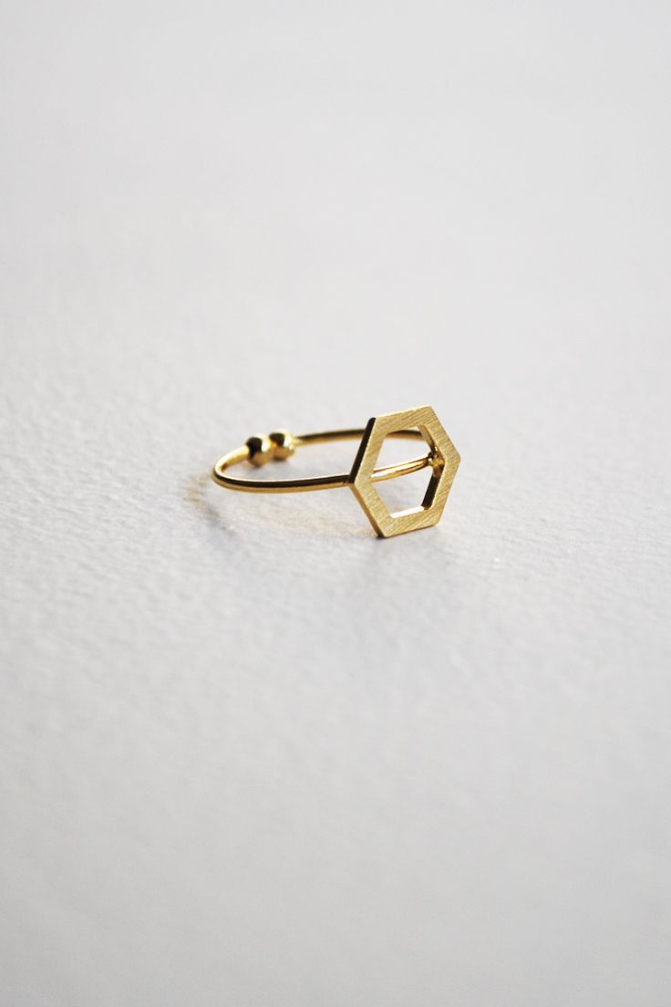 Geometric Matte Δαχατυλίδι - ΑΞΕΣΟΥΑΡ -> Κοσμήματα | Made of Grace
