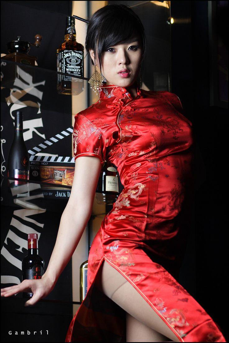 Ok wedding gallery the beauty dress of cheongsam 2013 - Interesting Green Chinese Cheongsam Q P O