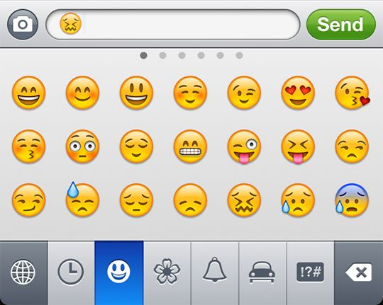 "Go Emoji:  ""If you love using emoticons, add the Emoji keyboard to your setup. Just go to Settings > General > Keyboard, then add the Emoji keyboard. This also works if you want to use keyboard in other languages."""