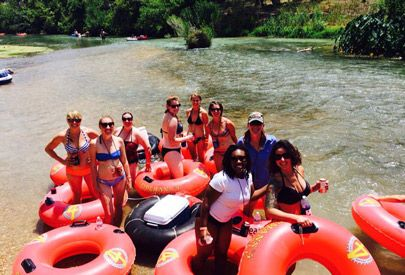 Cool Ideas For A Bachelorette Party in Austin | Float the River with ATXcursions