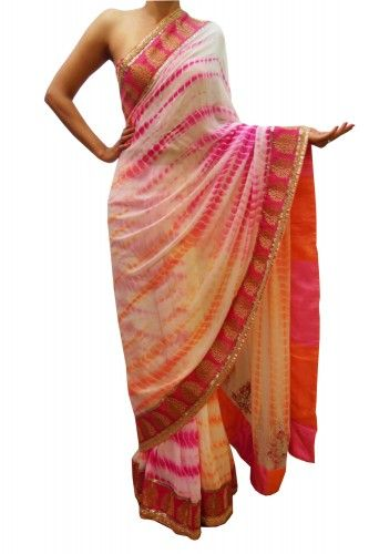 Bubber Couture Tie-Dye Sari - Clothing