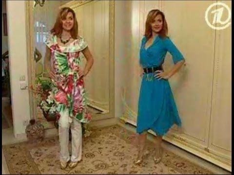Платье халат за полчаса - YouTube