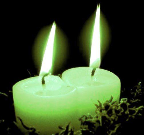 Le fronde del Nemeton: La Magia delle candele e dei colori