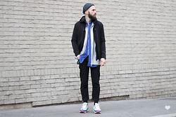 J'aime tout chez toi MEN - Études Studio Blue Shirt, Raf Simons Sneakers - J'AIME TOUT CHEZ TOI