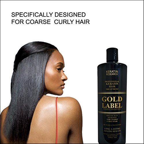 Gold Label Professional Keratin blowout Treatment Super Enhanced Formula Specifically Designed for Coarse Curly Black, african, Dominican and Brazilian Hair types 1000ml >>> Be sure to check out this awesome product.
