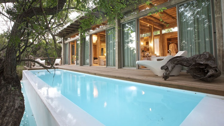 Kapama Karula luxury chalet - private plunge pool