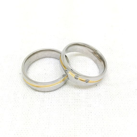 2pcssilver forever love ring couples wedding rings by Traceyshop