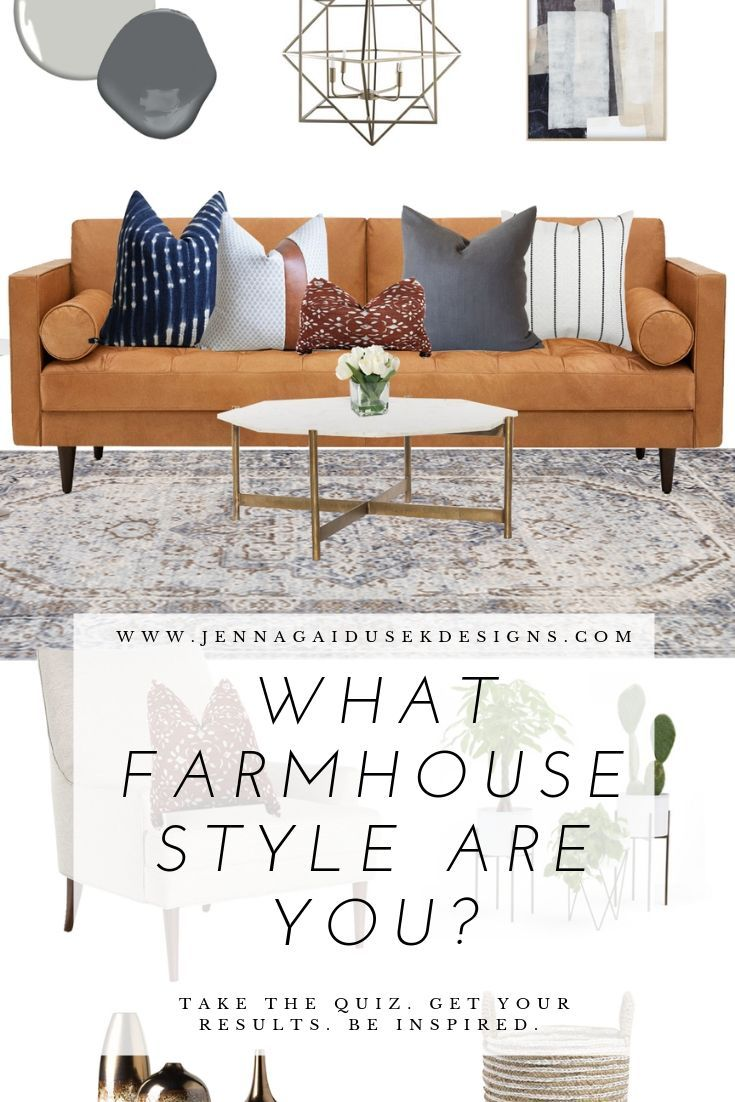 What Farmhouse Style Are You? Take This Quiz, Find Out Your Special Kind Of Far…   Living Room Table Sets, Living Room Furniture Chairs, Farmhouse Style Living Room