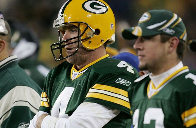 As A Rookie, Aaron Rodgers? Teammates Thought He Was Gay, Was Regularly Tormented By Brett Favre