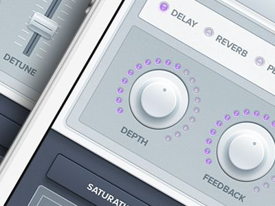 iPhone Synth App Interface Remix