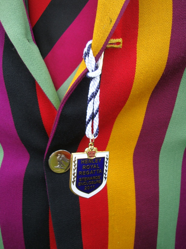 colourful rowing fashions - at Henley  Royal Regatta