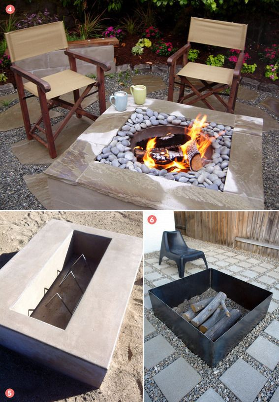17 Best Ideas About Concrete Fire Pits On Pinterest Diy