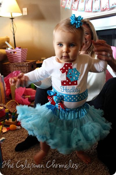 Coleman Chronicles: Hadley's First Birthday Party–A Winter ONEderland!