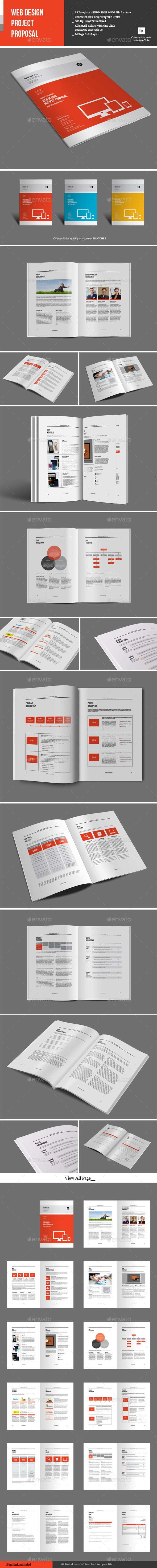 proposal report template%0A Web Design Project Proposal Template   Download  http   graphicriver net