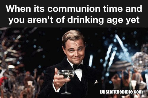 Church communion wine meme  #christian #memes