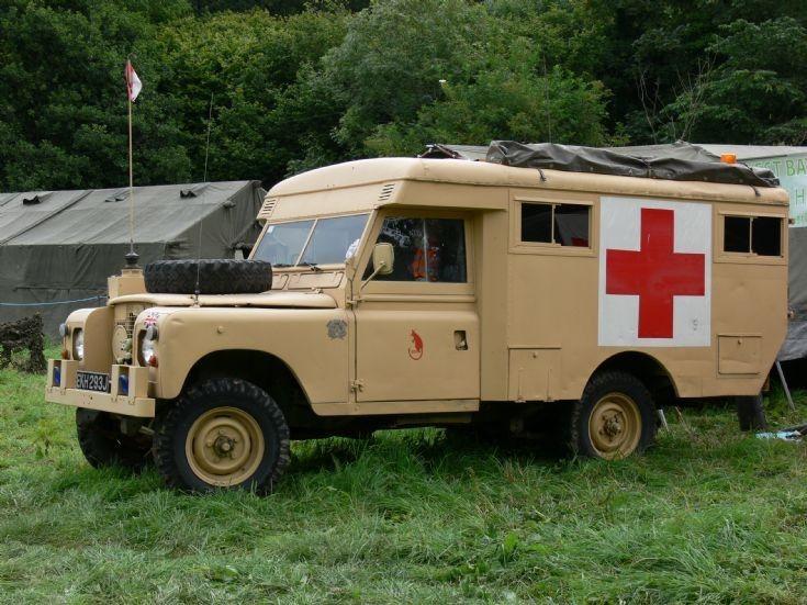 Land Rover Ambulance at Buckfastleigh