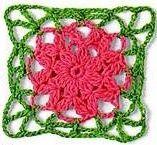 Patrón #1261: Granny a Crochet | CTejidas [Crochet y Dos Agujas]