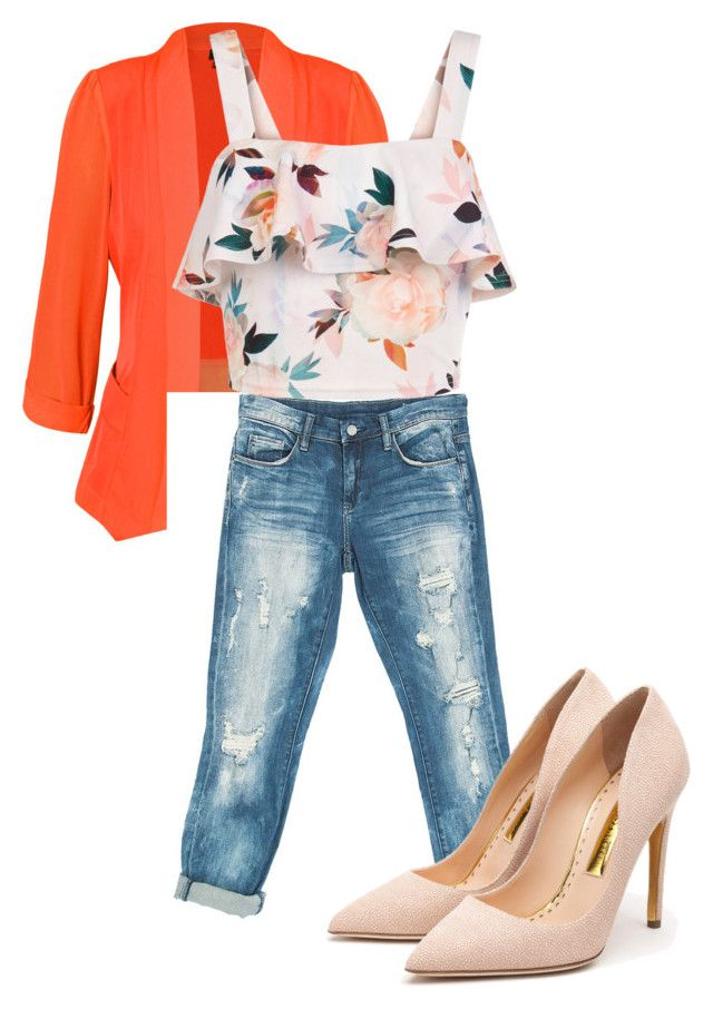 Casual Chic by missrorodu46 on Polyvore featuring mode, New Look, City Chic, Sans Souci and Rupert Sanderson