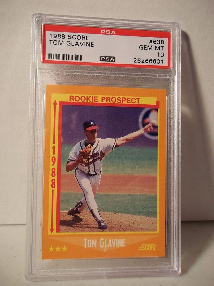 1988 Score Tom Galvin Rookie PSA Gem Mint 10 Baseball Card