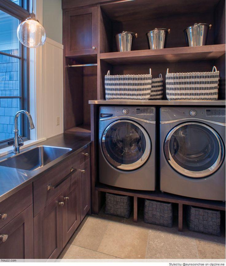 Decorating Smallspace Kitchen: Stylish Laundry Room, Laundry