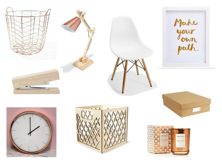 Creating an office space with a touch of bronze on a budget