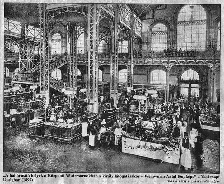 1897. Központi vásárcsarnok