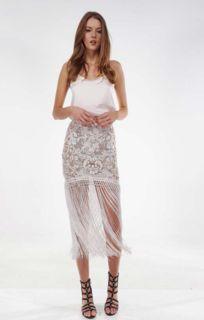 BRONX & BANCO Fringe Skirt
