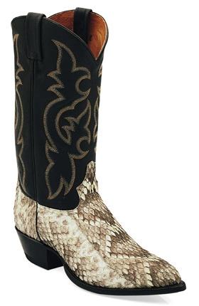 Tony Lama Snake Skin cowboy Boots