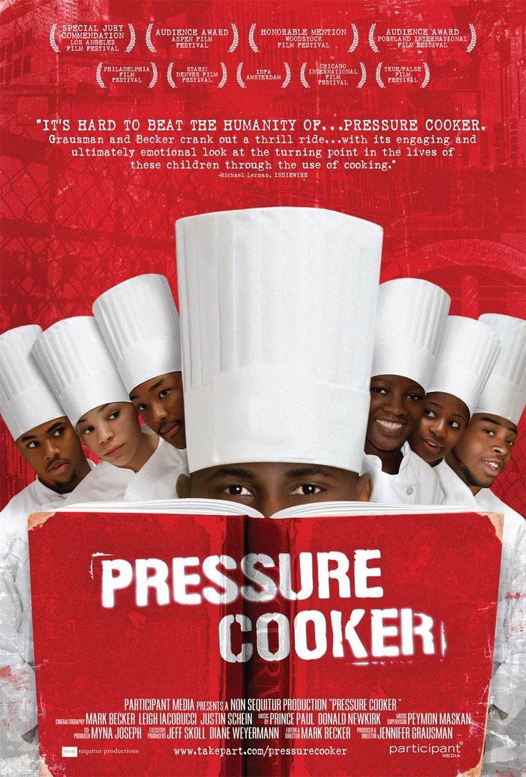 Pressure Cooker -  Awesome Teacher helps African American teens earn culinary scholarships.