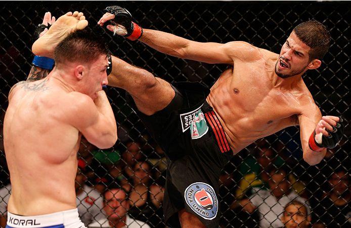 Faixa-preta de Jiu-Jitsu, Léo Santos enfrenta canadense finalizador no UFC Rio