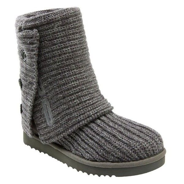 f5ec6487676 Women's Ugg 'Cardy' Classic Knit Boot ($105) ❤ liked on Polyvore ...