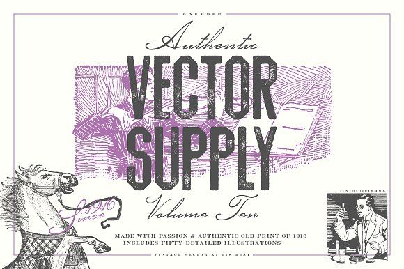 Unember Vector Supply Volume 10 by Unember on @creativemarket