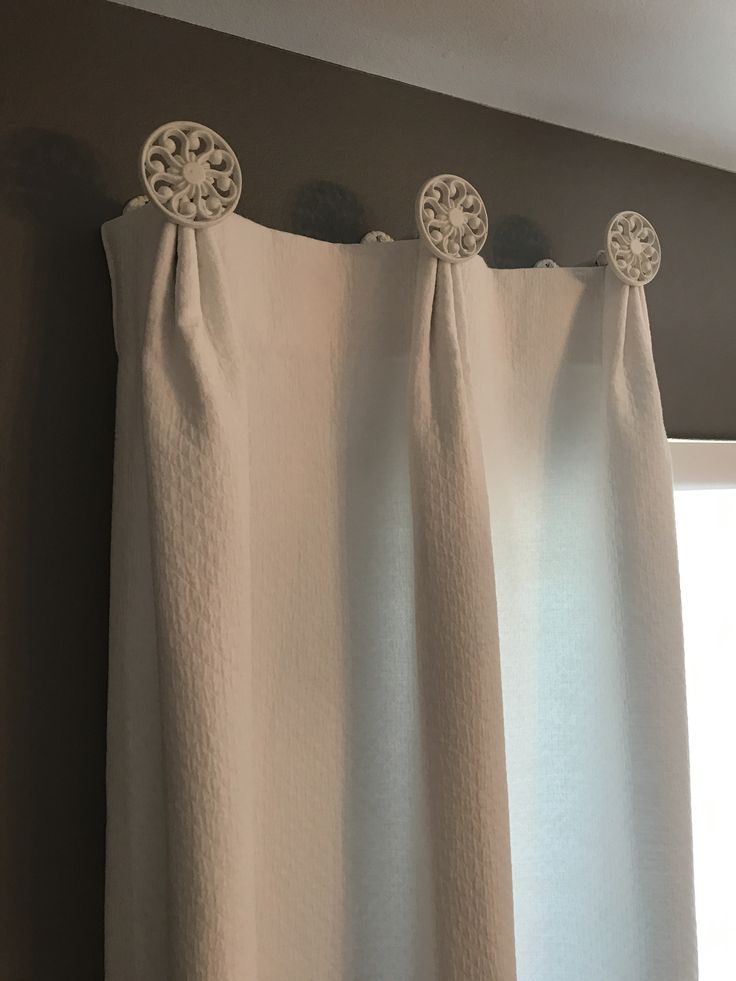 64 Best Medallion Top Drapery Design Images On Pinterest