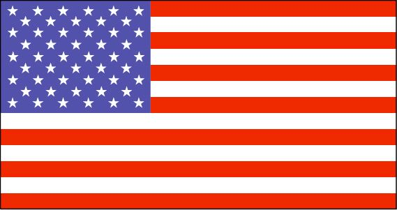 Baker Island Flag~The island is an American territory, and therefore uses the flag of the United States.