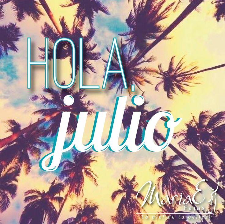 Que este mes esté lleno de bendiciones, éxitos y felicidad. ¡Feliz Julio para todos! #BienvenidoJulio #WelcomeJuly #july #months #happymonths #happyjuly