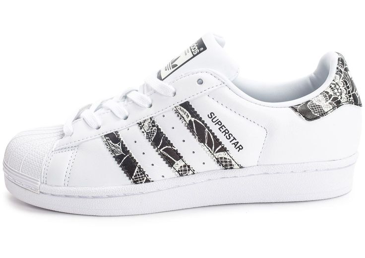 Chaussures adidas Superstar Farm Company Print vue extérieure