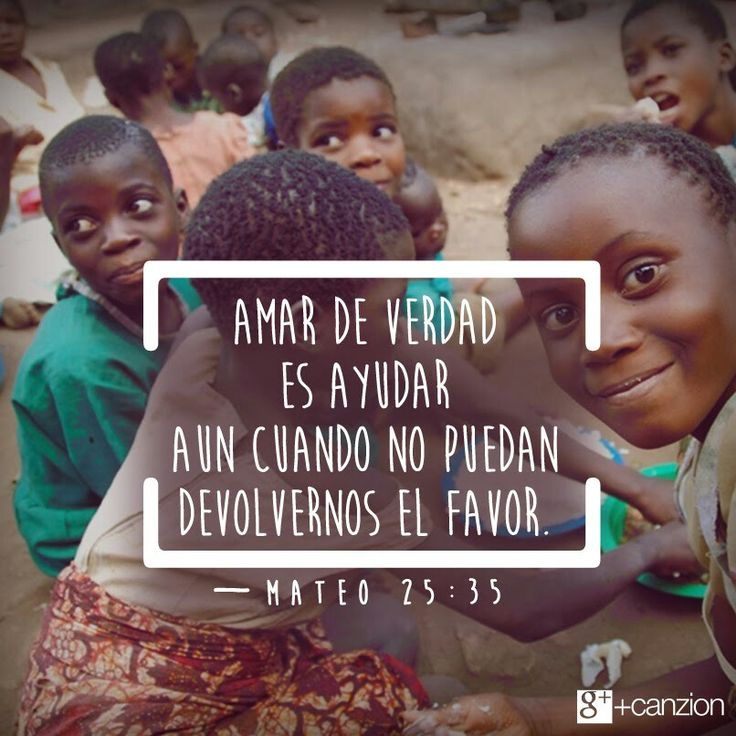 Permite que el Dios que mora en ti exprese su amor supliendo las necesidades de otra persona a través de ti. «Pues tuve hambre, y me alimentaron. Tuve sed, y me dieron de beber. Fui extranjero, y me invitaron a su hogar». —Mateo 25:35