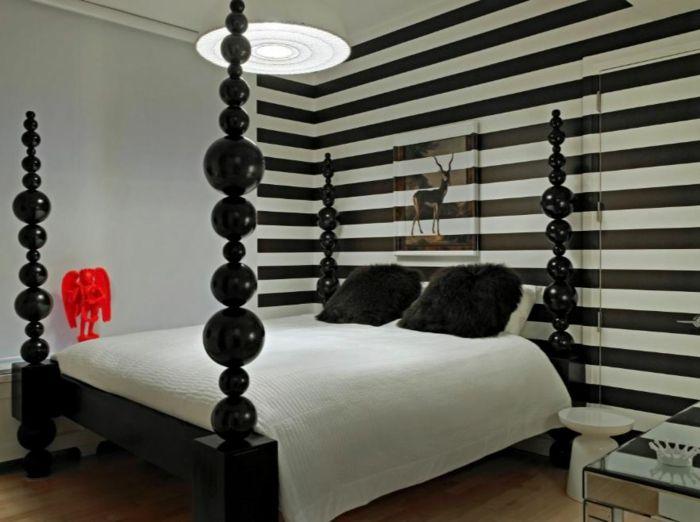 25+ Best Ideas About Schlafzimmer Schwarz Weiß On Pinterest ... Schlafzimmer Einrichten Schwarz