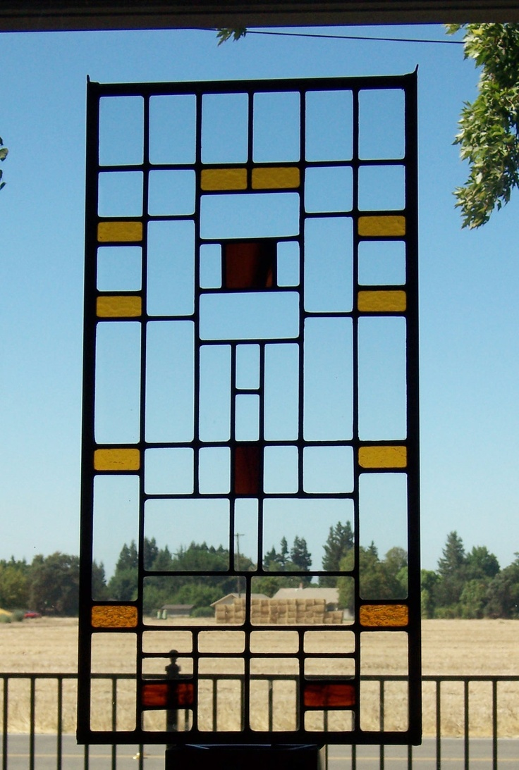 Arts and crafts style windows - Craftsman Era Stained Glass Windows Google Search