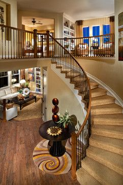 Century Communities at The Reserve at Wheatlands traditional staircase