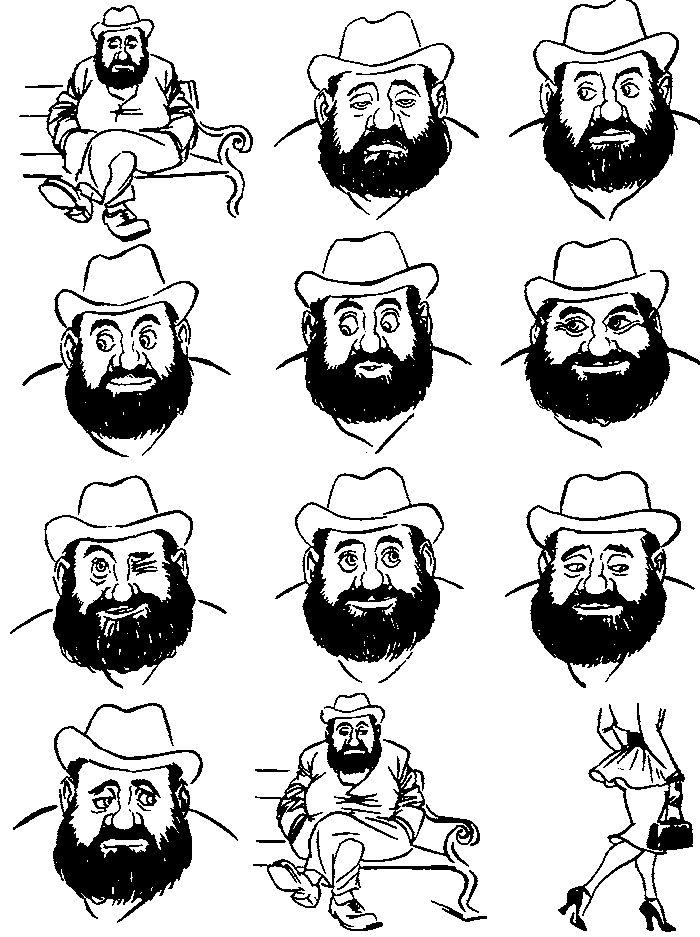 Herluf Bidstrup:  Danish cartoonist