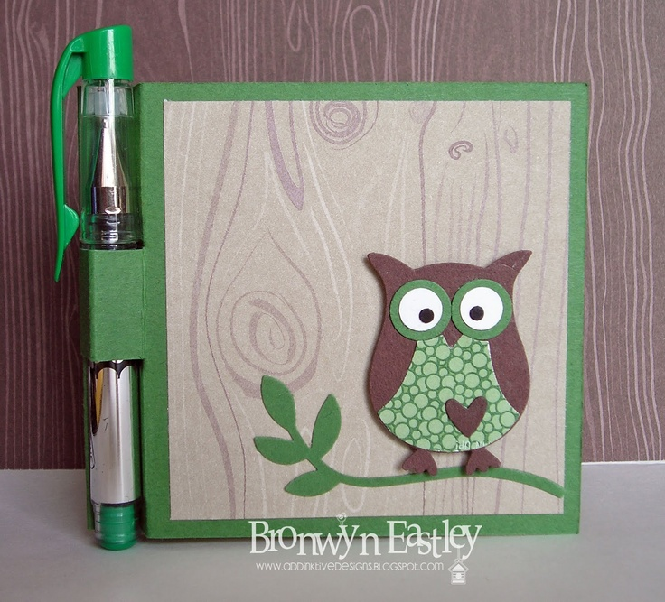 Owl - Post-It-Note Holder