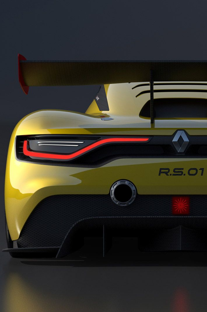 RS of Renaultsport 01 Race Car